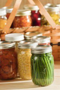 sterilizing canning jars